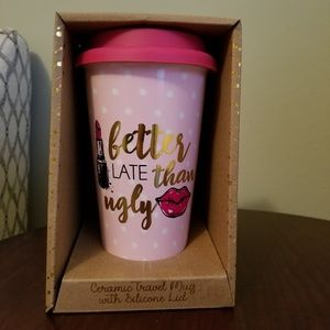 Other - Ceramic travel mug